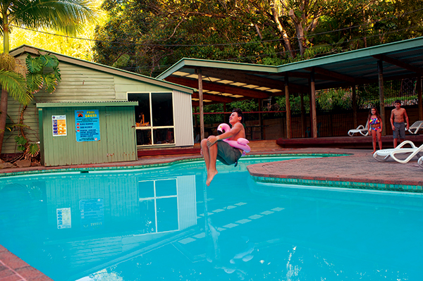 Kid -jumping -in -a -pool -at -Mt -Warning -Rainforest -Park -NSW