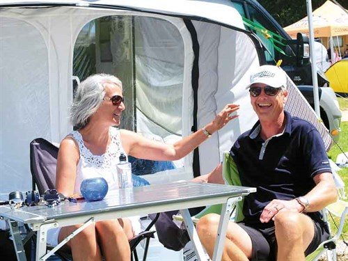 Lily -and -John -Mc Cleod ---happy -with -a -home -on -wheels