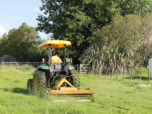Yellow -mower