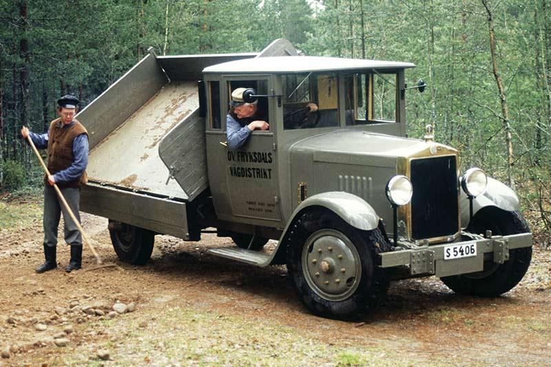 Scania -vabis -truck