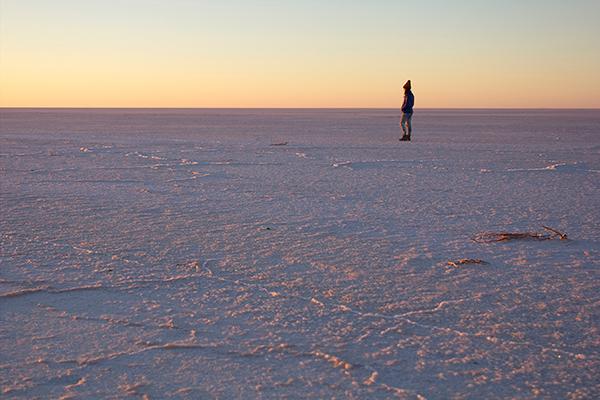 Sunrise -over -Lake -Eyre