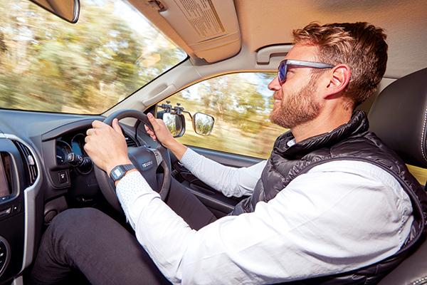 Man -driving -in -Isuzu -mu -x -4x 4-ls -t