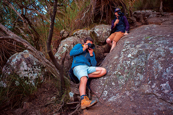 People -taking -photos -at -Mt -Warning -Summit -Track -2