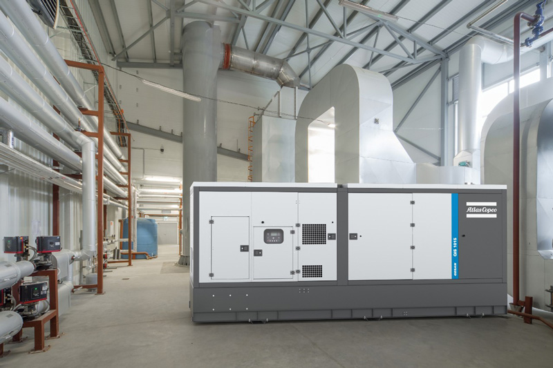 Atlas -Copco -QIS-1015-generator