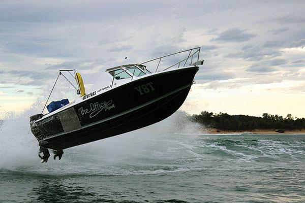 Edencraft -233-Formula -Abalone -boat -at -Mallacoota