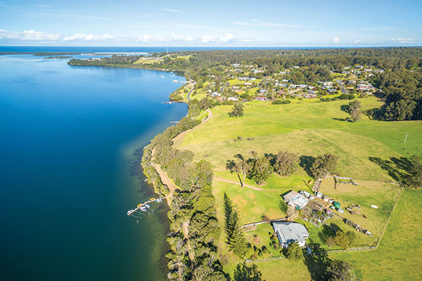 Mallacoota -lakes -Victoria -Australia