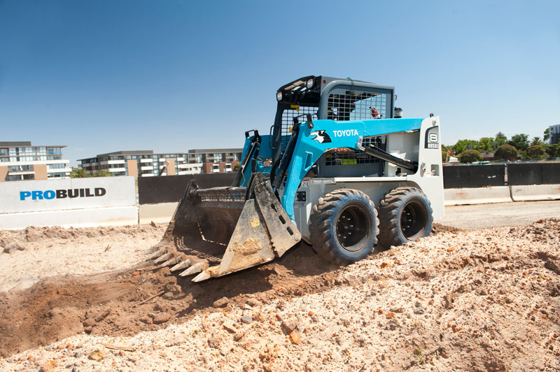 Toyota -Huski -Skid -Steer -Loader