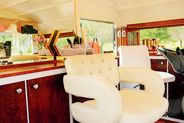Caravan -interior