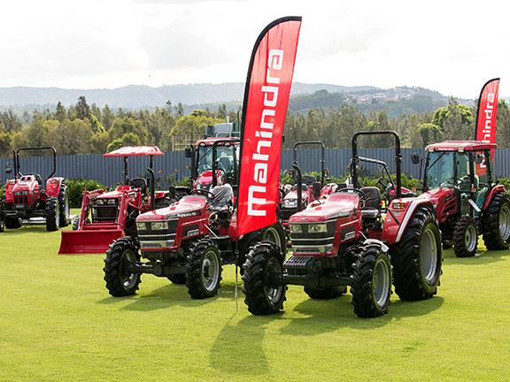 Mahindra tractors from the 60-92hp utility range