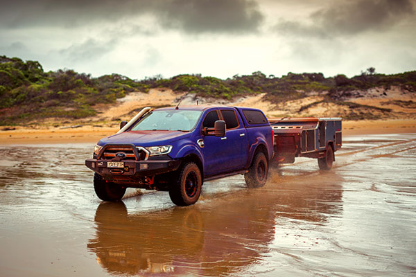 Driving -at -the -beach -with -Kumho -MT51-tyres