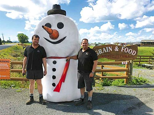 One -of -several -snowmen -Grain -&-Food -created -before -Christmas -to -bring -a -smile -to -local -faces