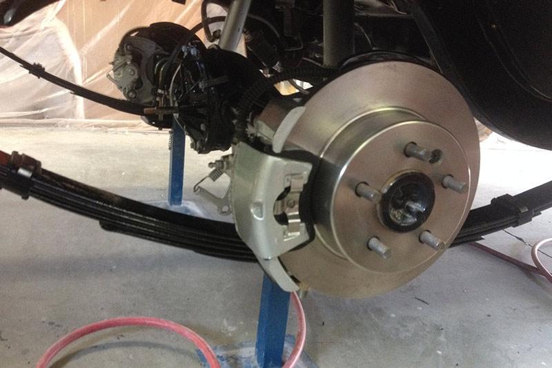 Reader -resto -falcon -brakes