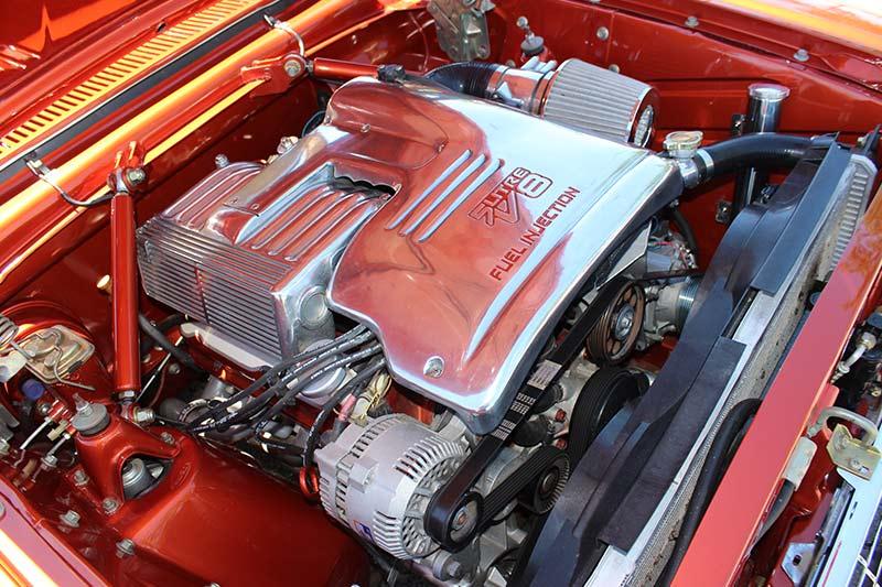Reader -resto -falcon -engine -bay