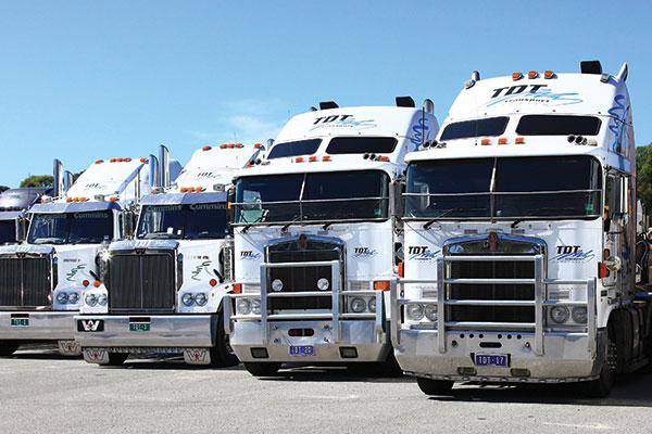 TDT-Training -trucks