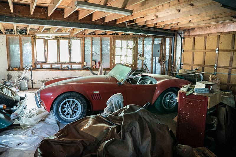 Cobra -barn -find