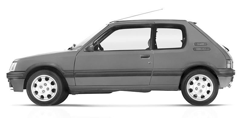 Peugeot -205-gti
