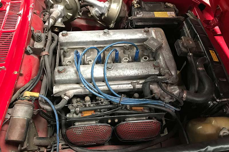Alfa -romeo -spider -engine
