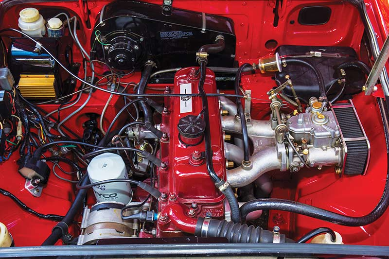 Mgb -engine -bay
