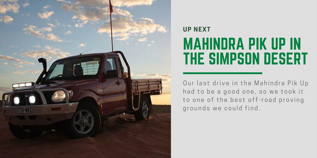 Road Test Mahindra Pik Up Single Cab 4x4 Price Amp Specs
