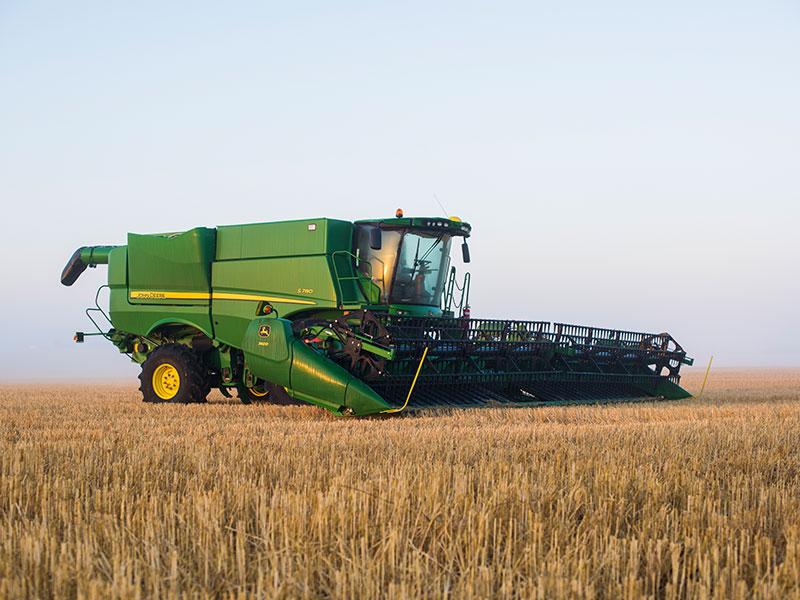 John Deere Combine >> John Deere S700 Combine Harvester Product Focus