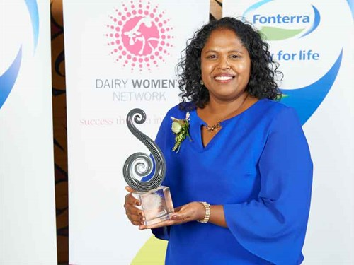 Loshni -Manikam ,-winner -of -Fonterra -Dairy -Woman -of -the -Year -2018
