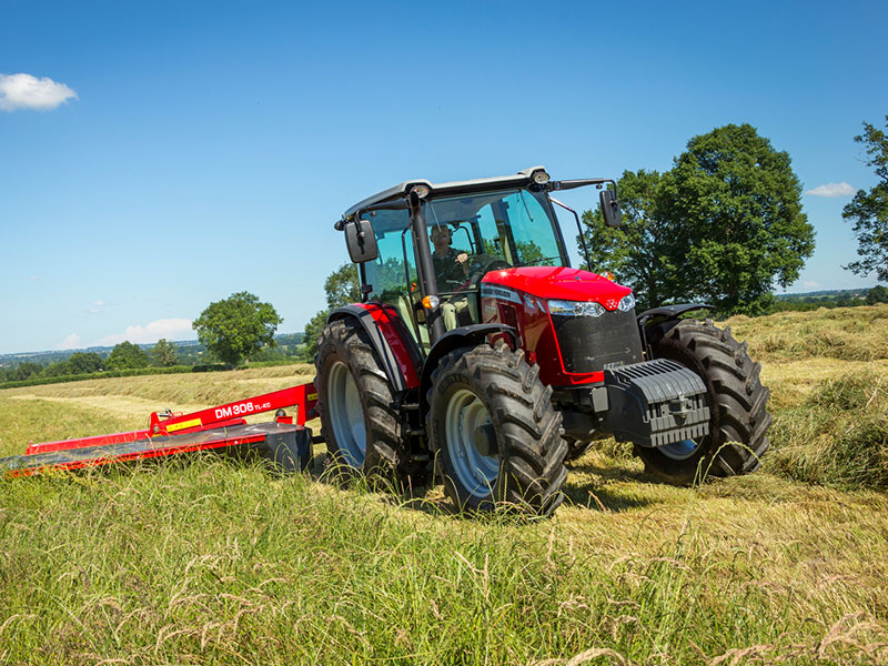 The new Massey Ferguson 6713 tractor