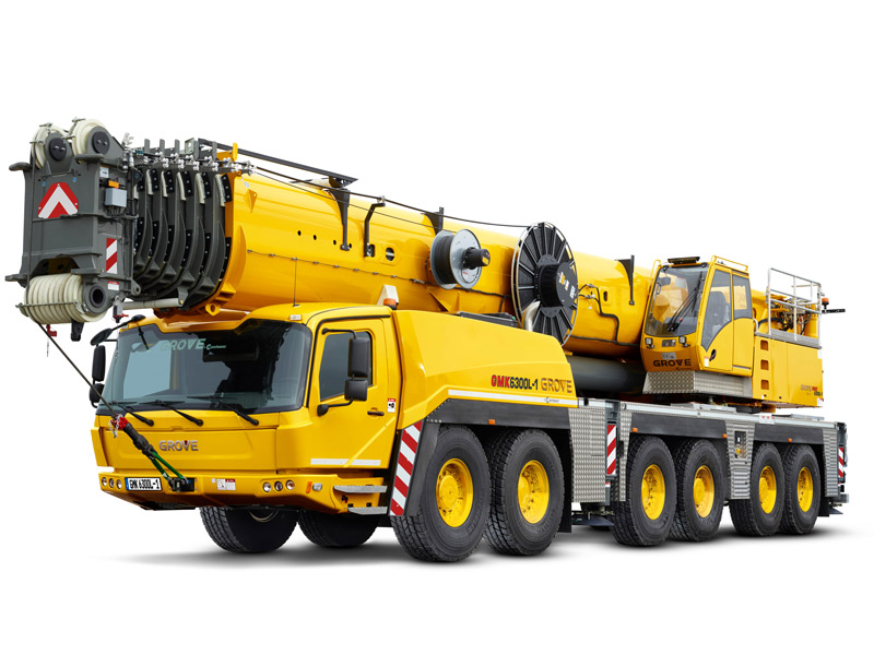 Grove -GMK6300-1-all -terrain -crane