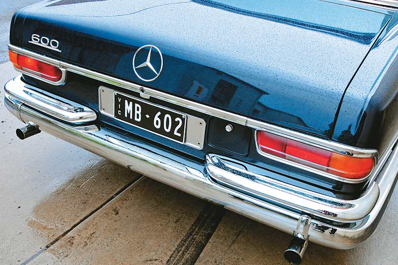 Mercedes -benz -pullman -rear