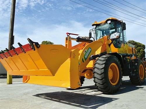 Wheel -loader