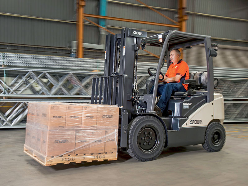 Crown 7 series forklift