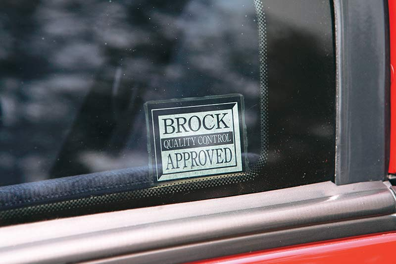 Brock -sticker