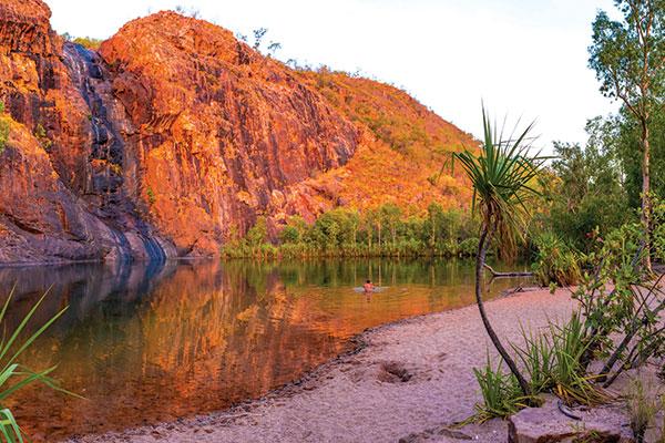 Gunlom -Infinity -Pool -Kakadu -National -Park -NT