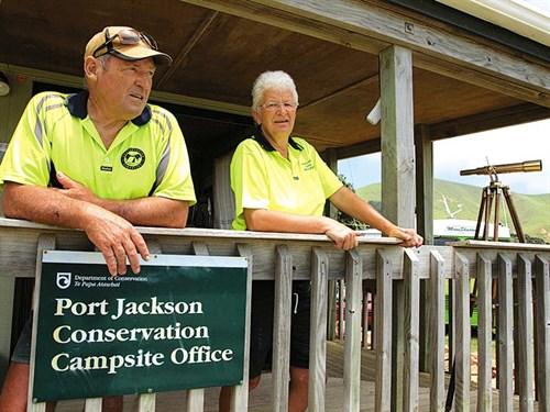 Campground -Hosts ---Port -Jackson ---Credit -Herb -Christopher -DOC-