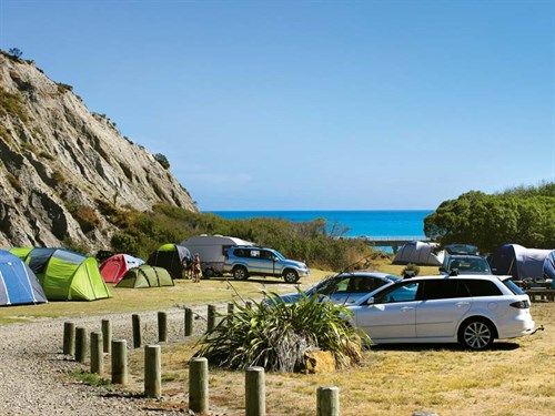 The -Putangirua -Pinnacles -Campsite -on -the -South -Wairarapa -coast -is -an -idyllic -spot -for -a -volunteering -stint ---Credit -Nina -Mercer