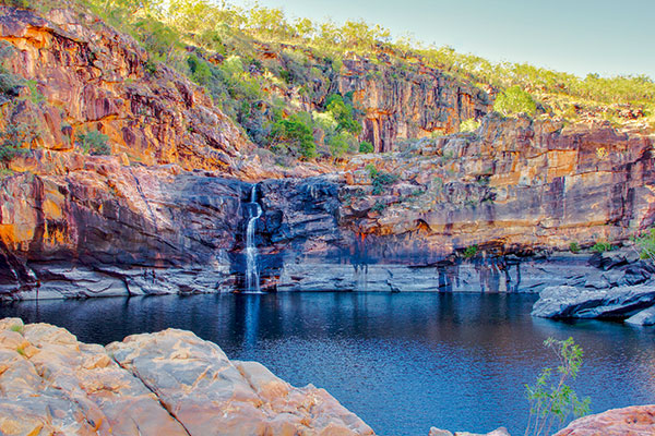 Blackpool -waterfall -in -Koolpin -Gorge -Kakadu -NT