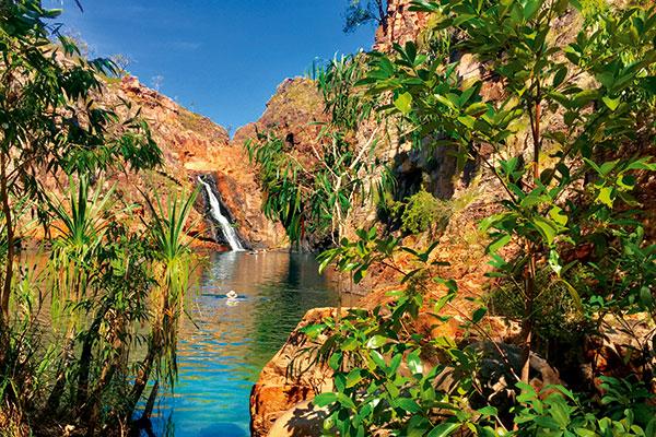 Waterfall -in -Maguk -Kakadu -NT