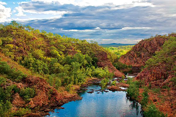 Downstream -at -Leylinedith -Falls -Nitmiluk -National -Park -NT