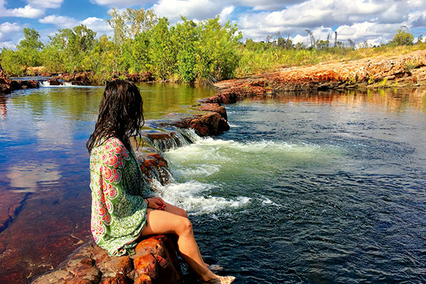 Sweetwater -pool -at -Leylinedith -Falls -Nitmiluk -National -Park -NT