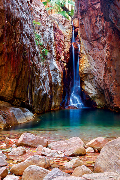 El -Questro -Gorge -waterfall -Kimberley -WA