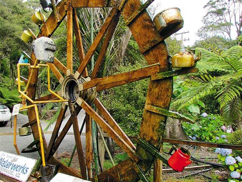 Whelan _15-The -waterwheel -is -turned -by -water ,-plus -a -selection -of -recycled -containers