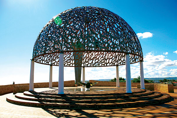 Dome -of -Souls -sculpture -HMAS-Sydney -II-Memorial