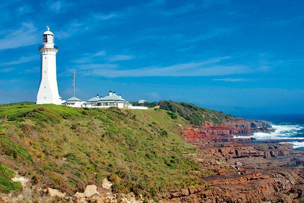 Green -Cape -Lighthouse -coast