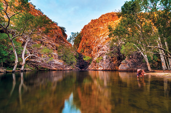 Waterhole -at -Butterfly -Falls -in -Limmen -National -Park -NT
