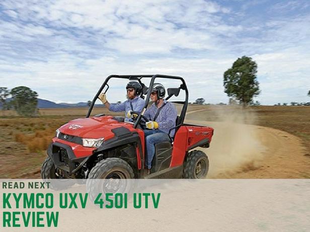 Kymco UXV 450i UTV