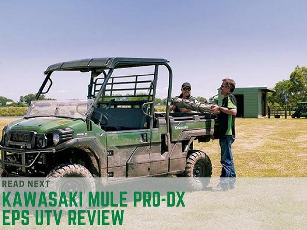 Kawasaki Mule PRO-DX EPS UTV
