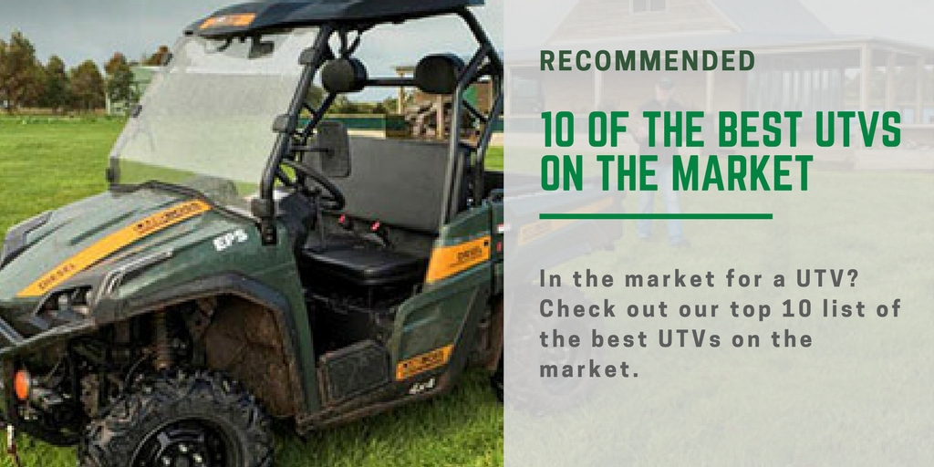 Best UTVs for sale