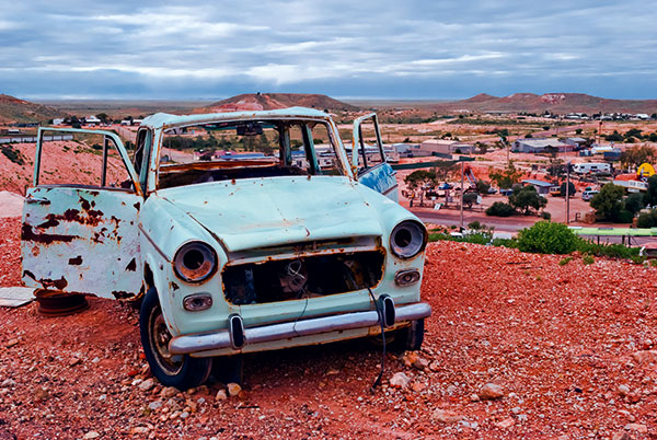 Downtown -Coober -Pedy