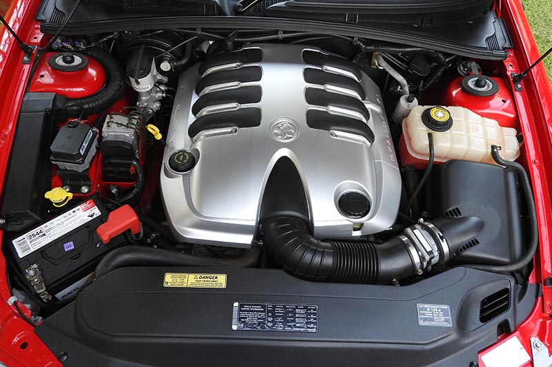 Holden -monaro -engine -bay