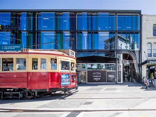 Explore -Christchurch -trams -city