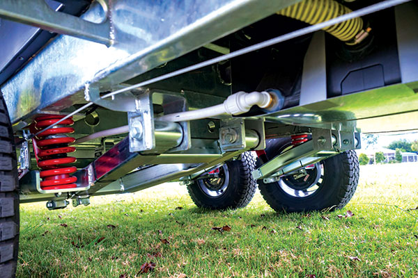 Outback -suspension -Willow -RV